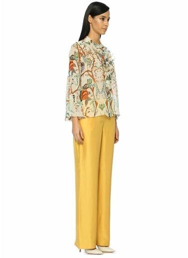 Alberta Ferretti Pantolon Sarı